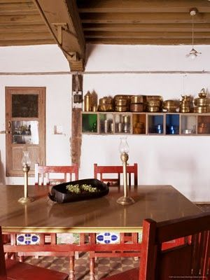 Ethnic Indian Decor Traditional Kitchen