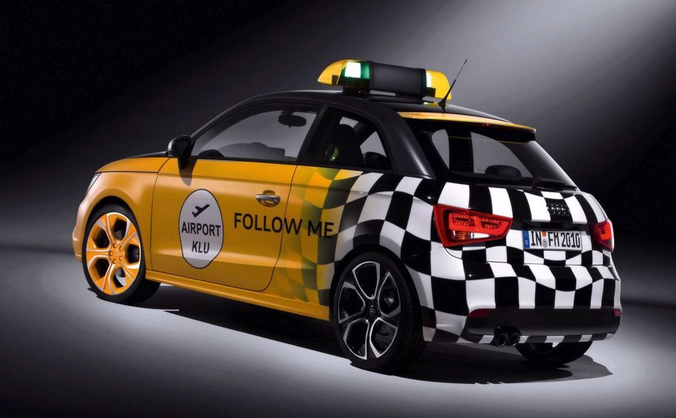 2010 Audi A1 Follow Me car HD Wallpaper