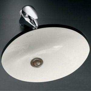 Kohler K2209-0 Caxton Undermount Style Bathroom Sink - White | Ferguson  $79.91. Lav