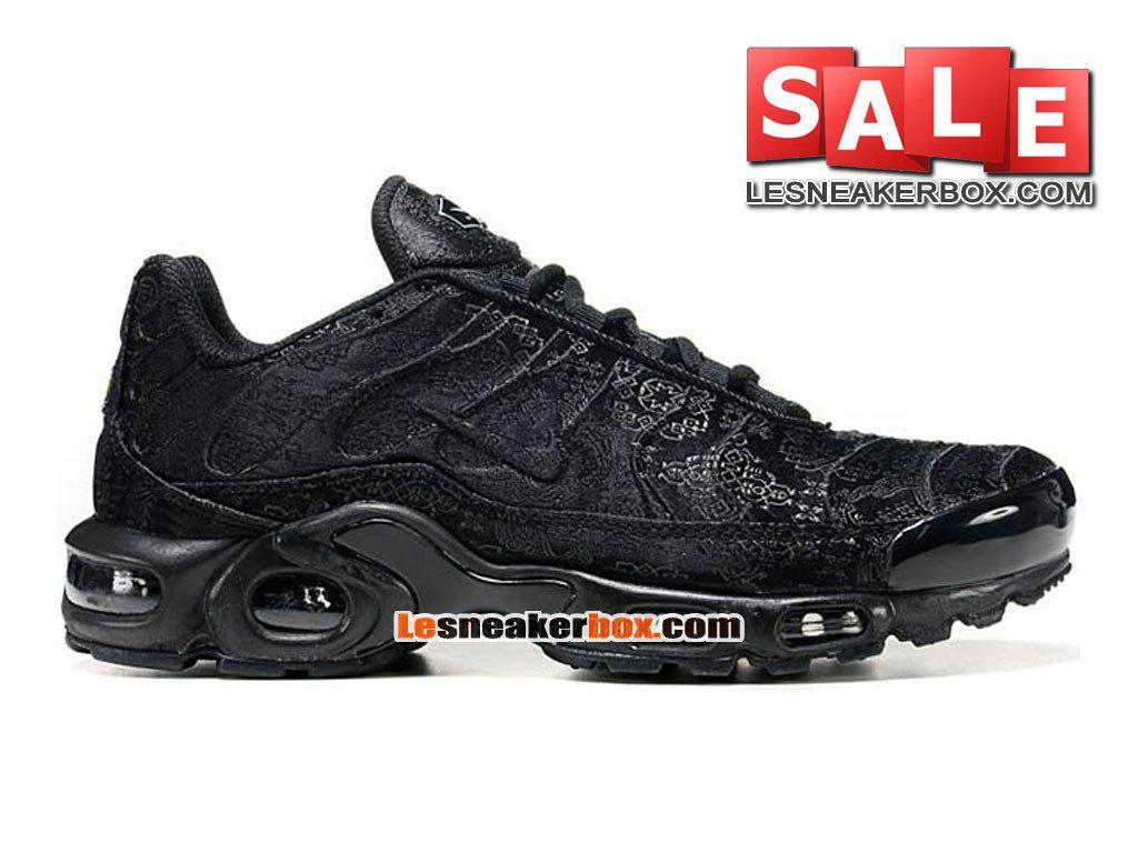 sports shoes eb0b5 64075 NIKE AIR MAX TN TUNED REQUIN MESH - CHAUSSURES NIKE SPORTSWEAR PAS CHER  POUR HOMME Noir Noir 604133-106