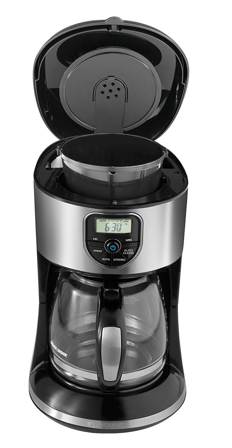 Black and Decker CM4000S 12Cup Programmable Coffeemaker