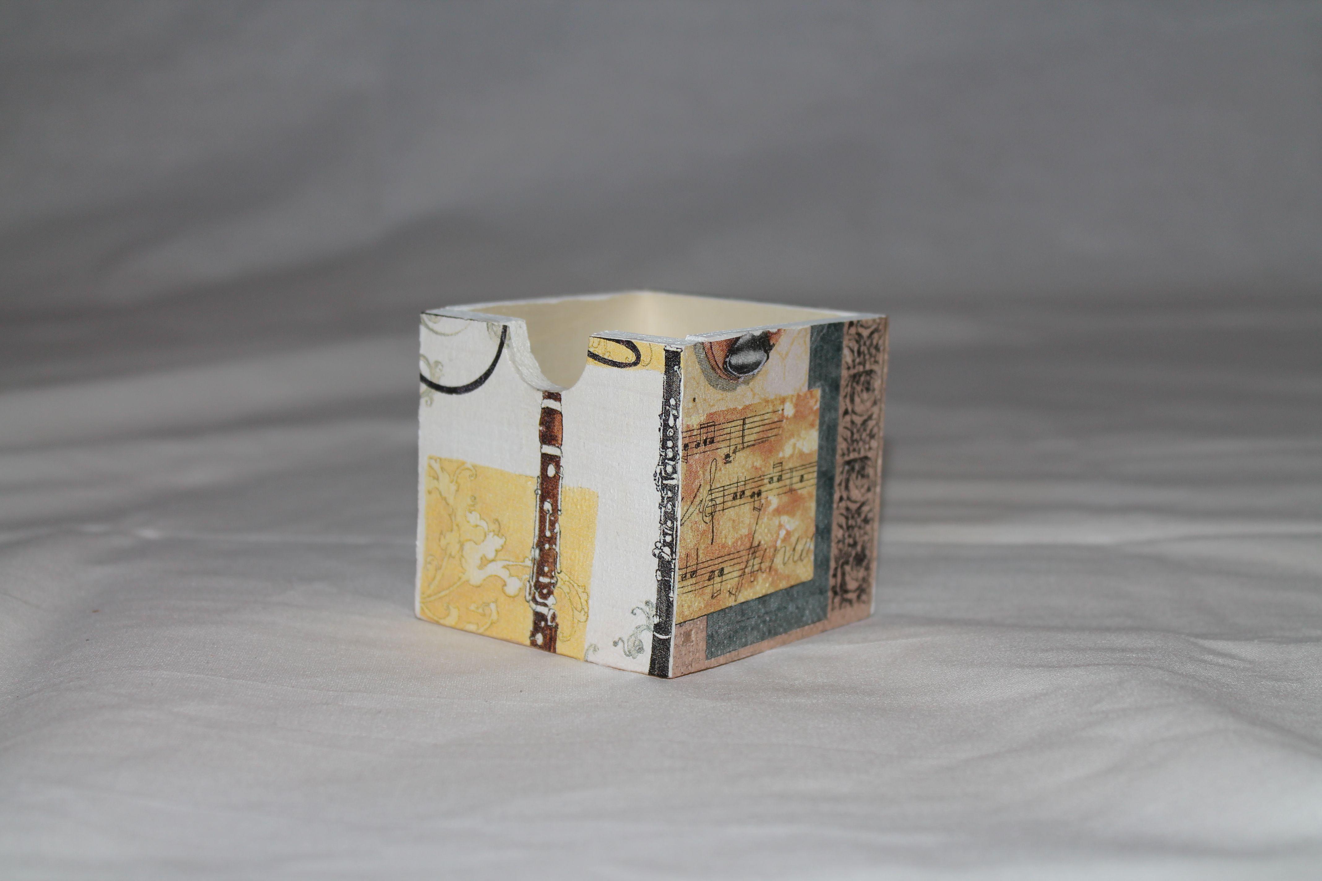 Lampenschirm mit Serviettentechnik beklebt Maße: ca. 22 x 12 cm ...