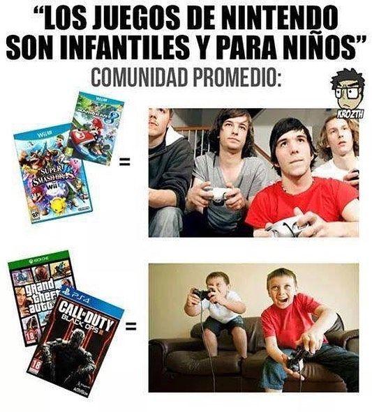 Es gracioso por qué es verdad #videogames #nintendo #gamers #sectorn