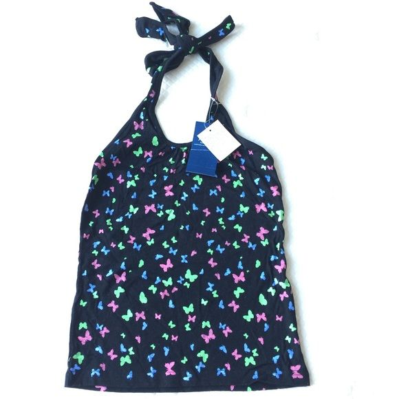(NWT)J-Honey Butterfly Cute Top NWT  Brand: J-Honey fashionfactory Size: M (fit S or XS) Stretchable but not too much 100%cotton  Got some gifts from my Asian friend. Selling those don't fit me. Tops