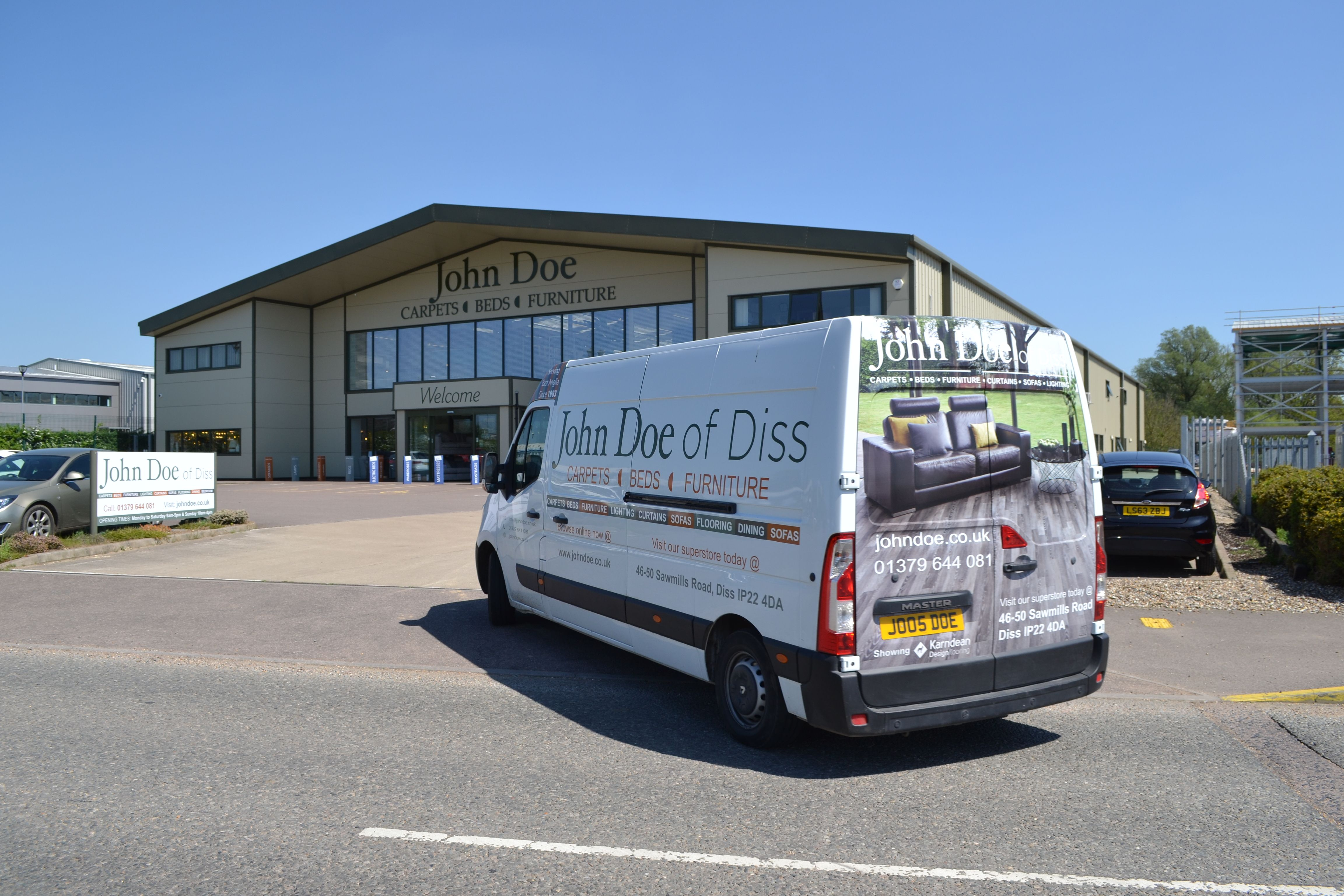 17 Vans On The Road Every Day Great Yarmouth Norfolk Stowmarket