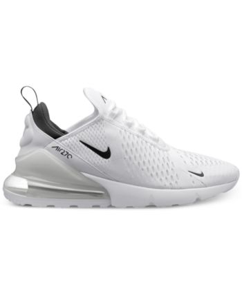 Nike Men s Air Max 270 Casual Sneakers from Finish Line - White 10 ... fd7f545e4b93