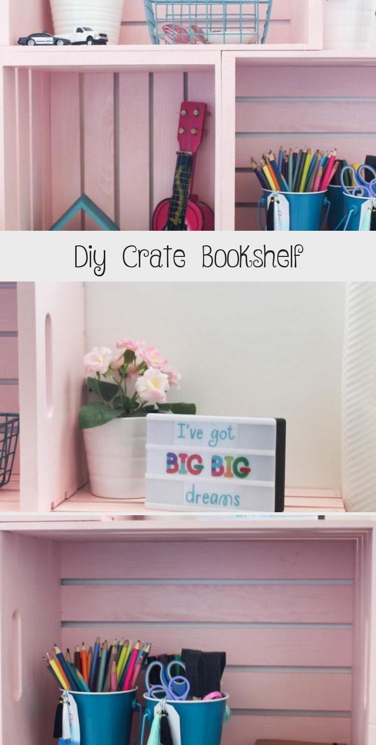 Photo of Diy Crate Bookshelf – DIY – Beeindruckend! Erstaunliche Bücherregale … – Diy …