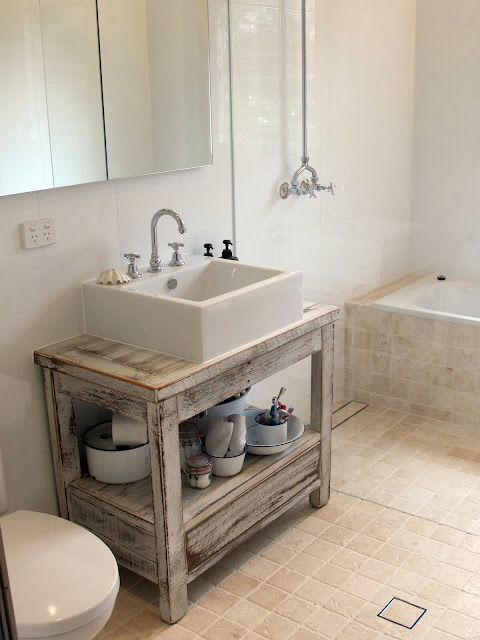 Driftwood Vanity Beachy Bathroom Beach House Bathroom Bathroom Decor