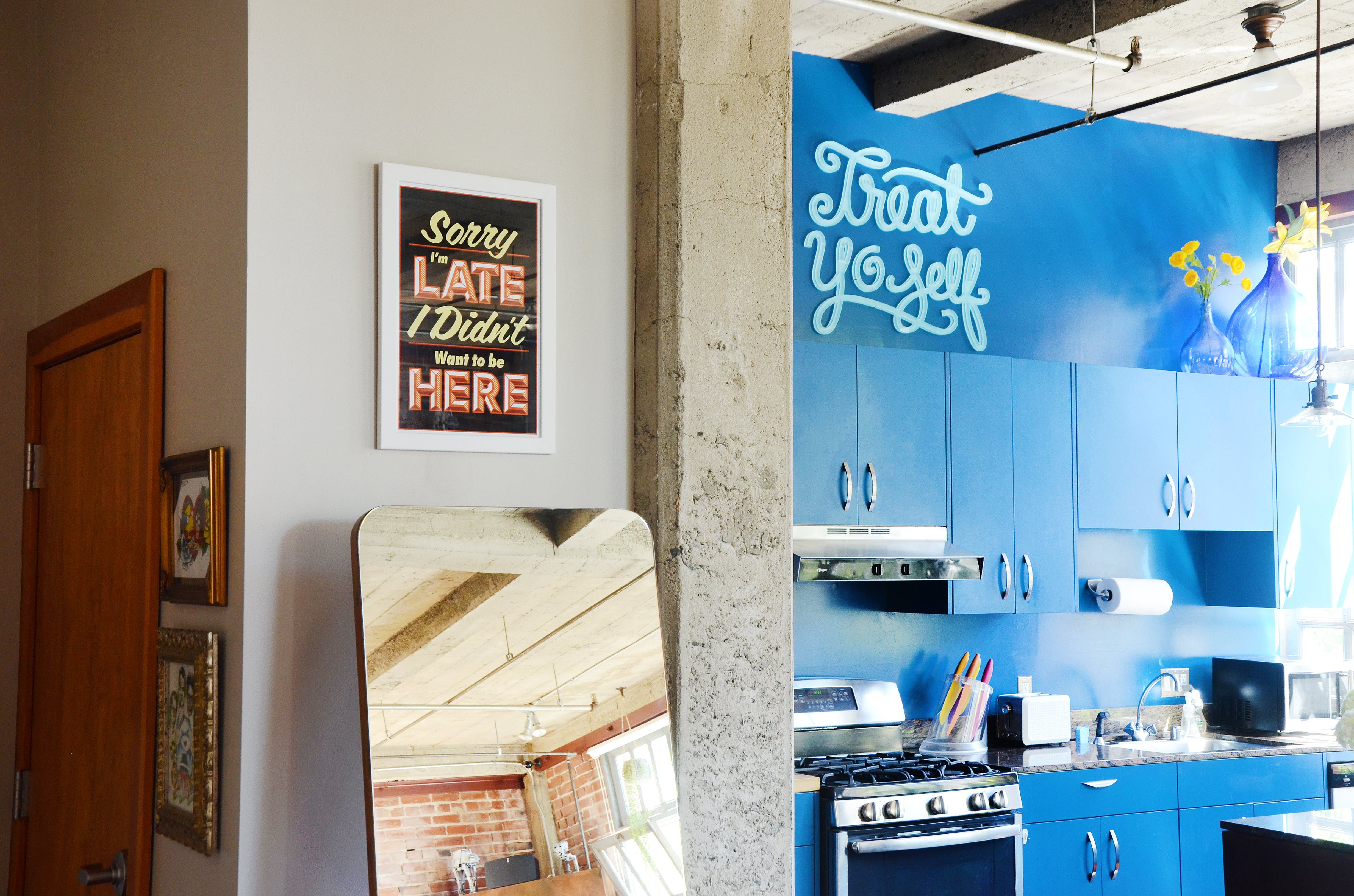 A bright industrial oakland loft withus sitcom vibes lofts