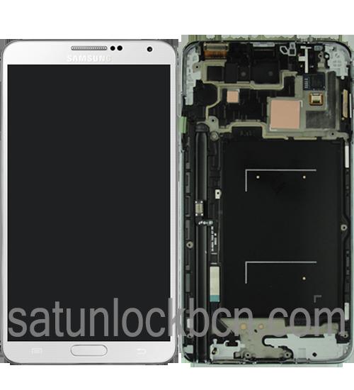 Reparación pantalla Samsung Galaxy Note 3 (GT-N9005). Cambio de pantalla Samsung Galaxy Note 3 (GT-N9005).