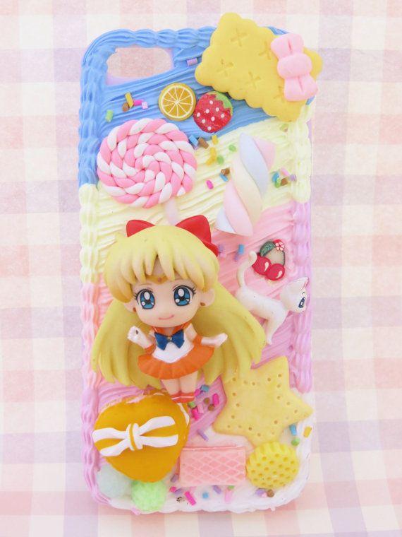 best website ce85f 5c413 Sailor Venus Sailor Moon phone case decoden by Tinaskickasskawaii ...