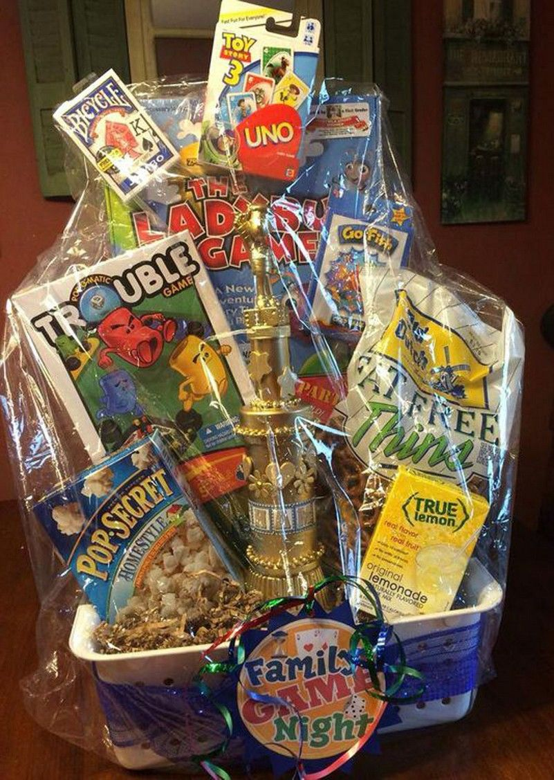 movie night gift basket amazon