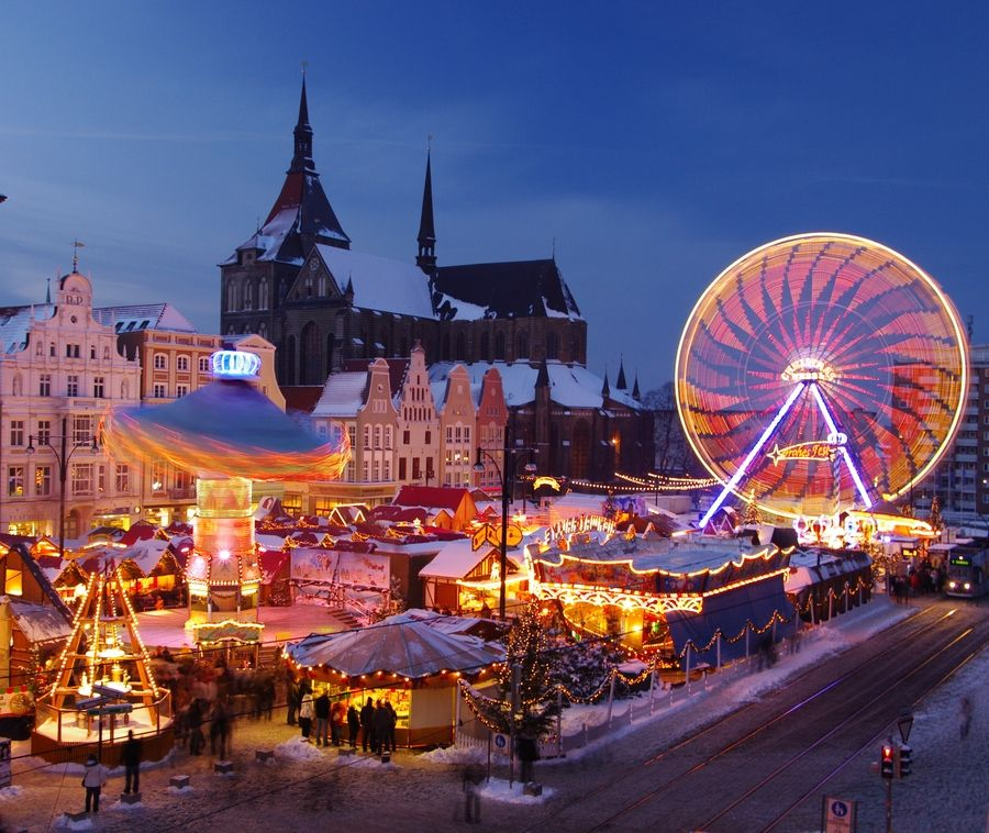 Christmas Places To Visit In London: Christmas Market In Rostock