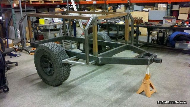 Expedition Trailer Build Google Search Outdoors Backcountry
