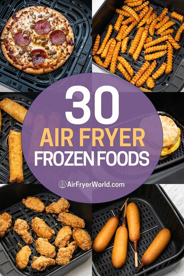 Pin on Frozen Food Air Fryer Recipes