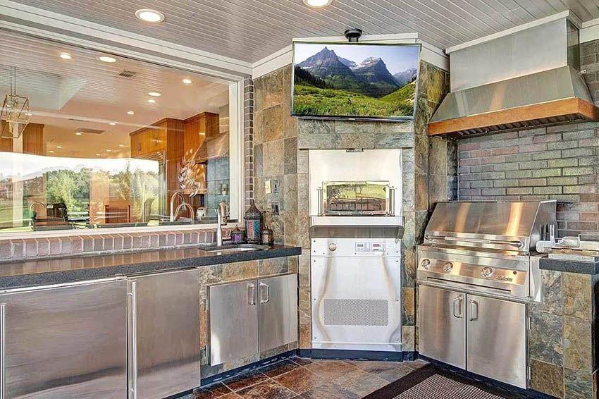 Pin On Outdoor Kitchen Ideas