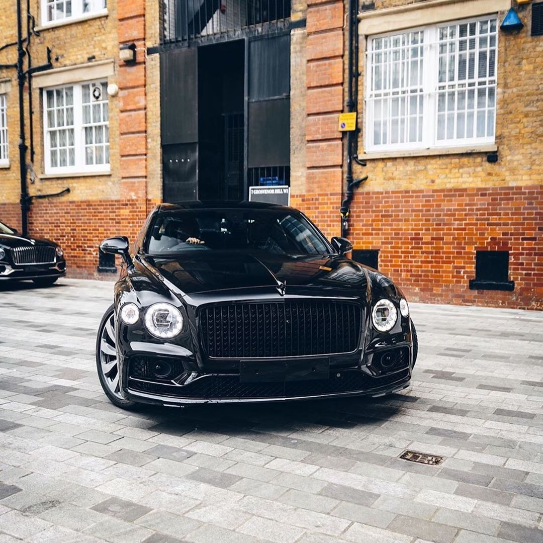 Bentley Club Azerbaijan в Instagram In Black Bentley Flying Spur Black Line Spetification Tfjj Car Inspiration Black Bentley Beautiful Cars