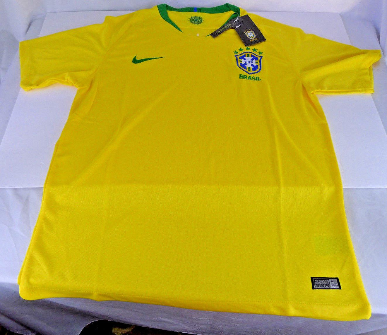 Nike Brasil CBF Soccer Jersey Shirt Dri-Fit 2018 World Cup Yellow Mens  Medium Discount Price 38.99 Free Shipping Buy it Now 5909206f5