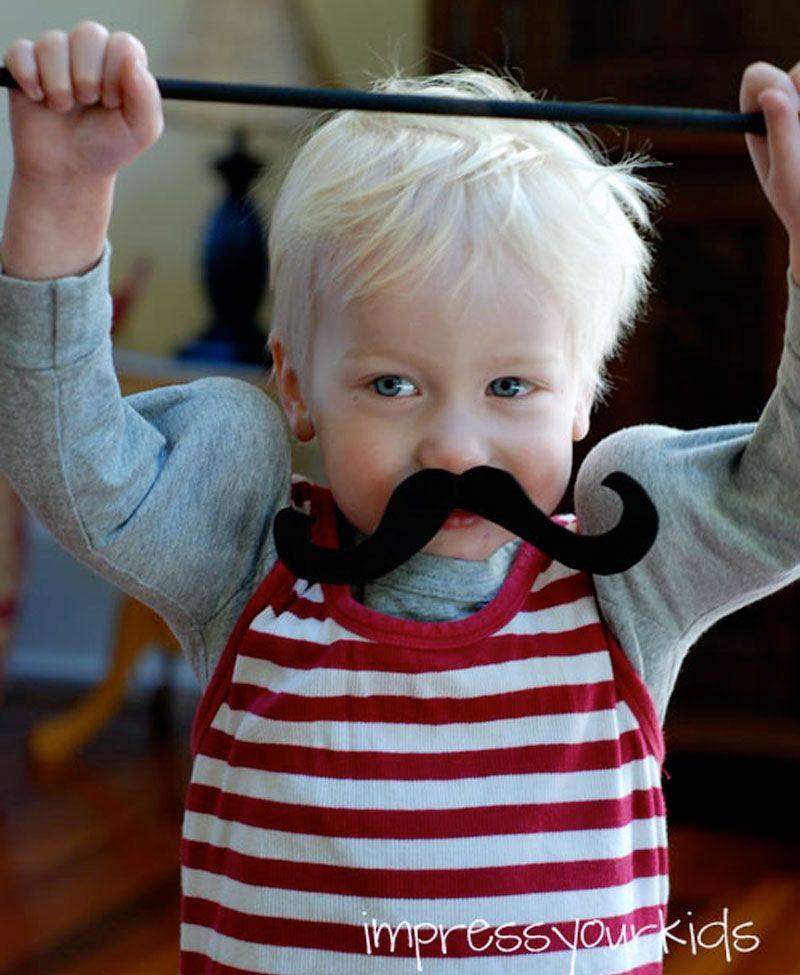 75 Creative DIY Halloween Costumes for Kids - Strong Man Boo! Just - homemade halloween costume ideas men