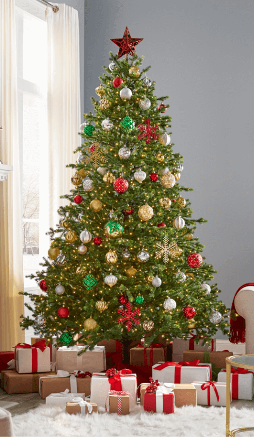 Christmas Trees Christmas Tree Inspiration Indoor Christmas Home Depot Christmas Decorations