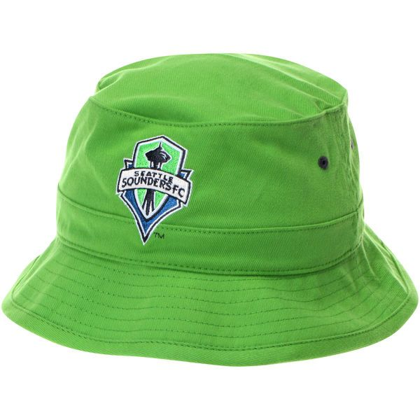 905abca58b754 Seattle Sounders Mitchell   Ness Green Team Color Bucket Hat