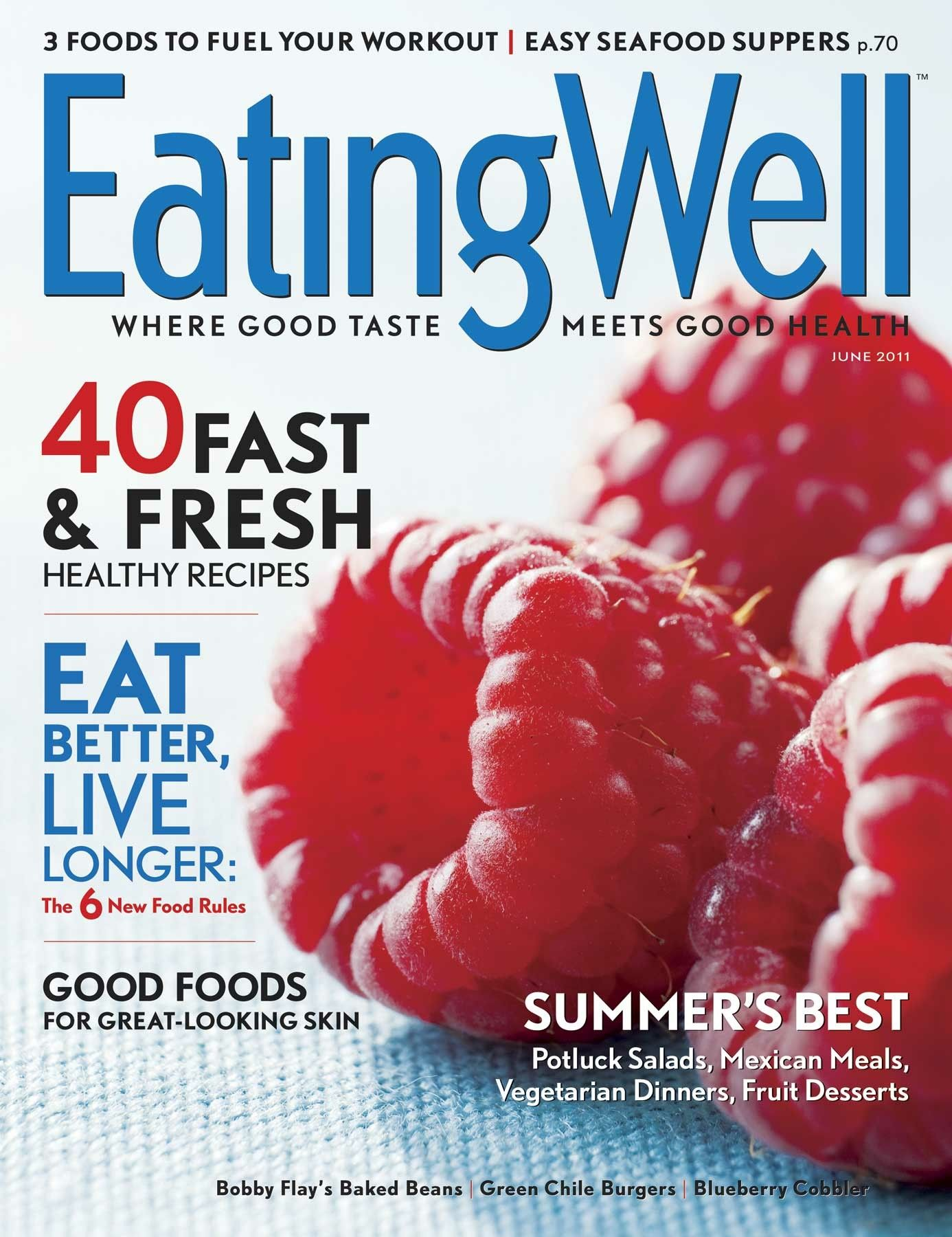 Pin By Sarai Ovzinsky On Food Magazine Covers Eating Well Magazine Food Magazines Cover Fresh Healthy Recipes