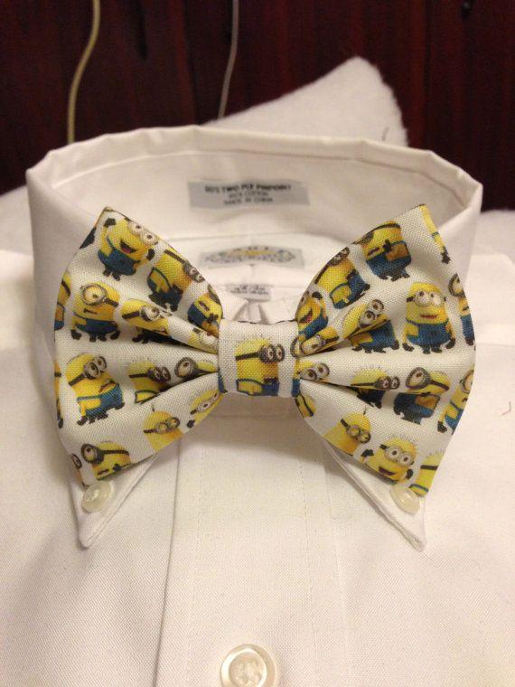 quantité limitée gros remise original de premier ordre Minion noeud papillon / archet cravate ou noeud de par ...