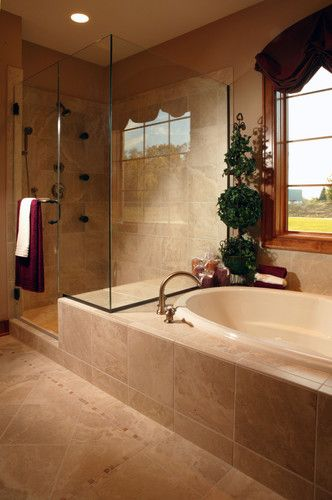 Bathroom Tub Shower Design Ideas Pictures Remodel And Decor Master Bathroom Shower Bathroom Shower Design Traditional Bathroom