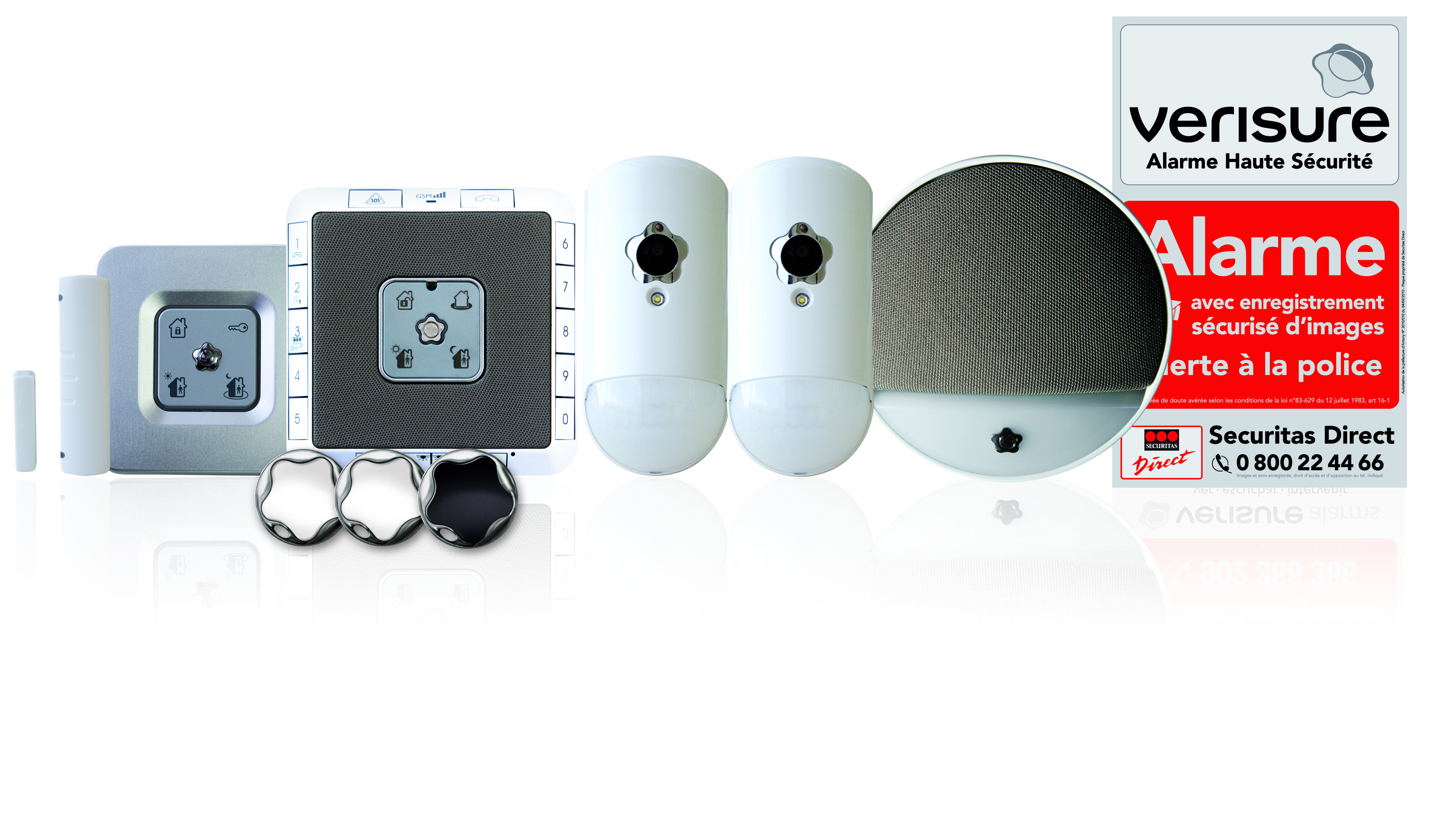 Kit t l surveillance alarme verisure securitas direct for Alarme verisure securitas direct