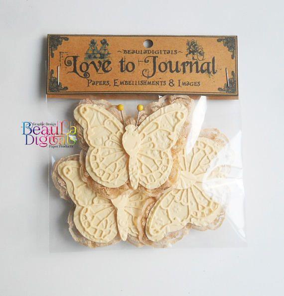 Paper Lace Butterflies Handmade Lace Butterflies Paper