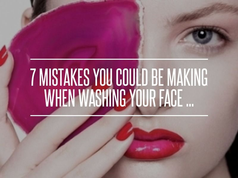 7 #Mistakes You Could Be #Making when Washing Your Face ... → #Skincare [ more at http://skincare.allwomenstalk.com ]  #Cells #Care #Face #Skin #Routine