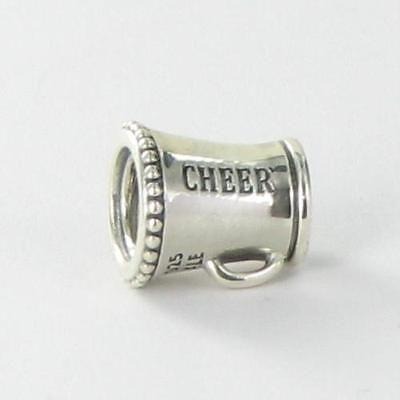 933d62ea7 #Pandora 791125 #charm bead cheerleader megaphone #sterling silver retired  new, View more