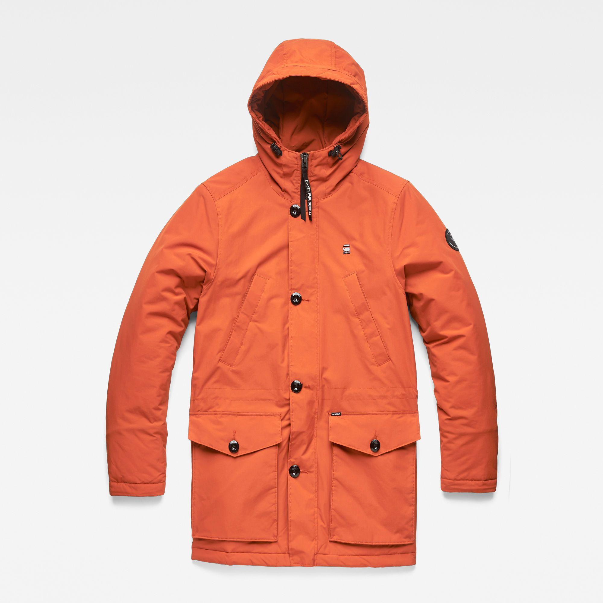 Vodan Padded Parka | Raw clothing, Parka, Denim branding
