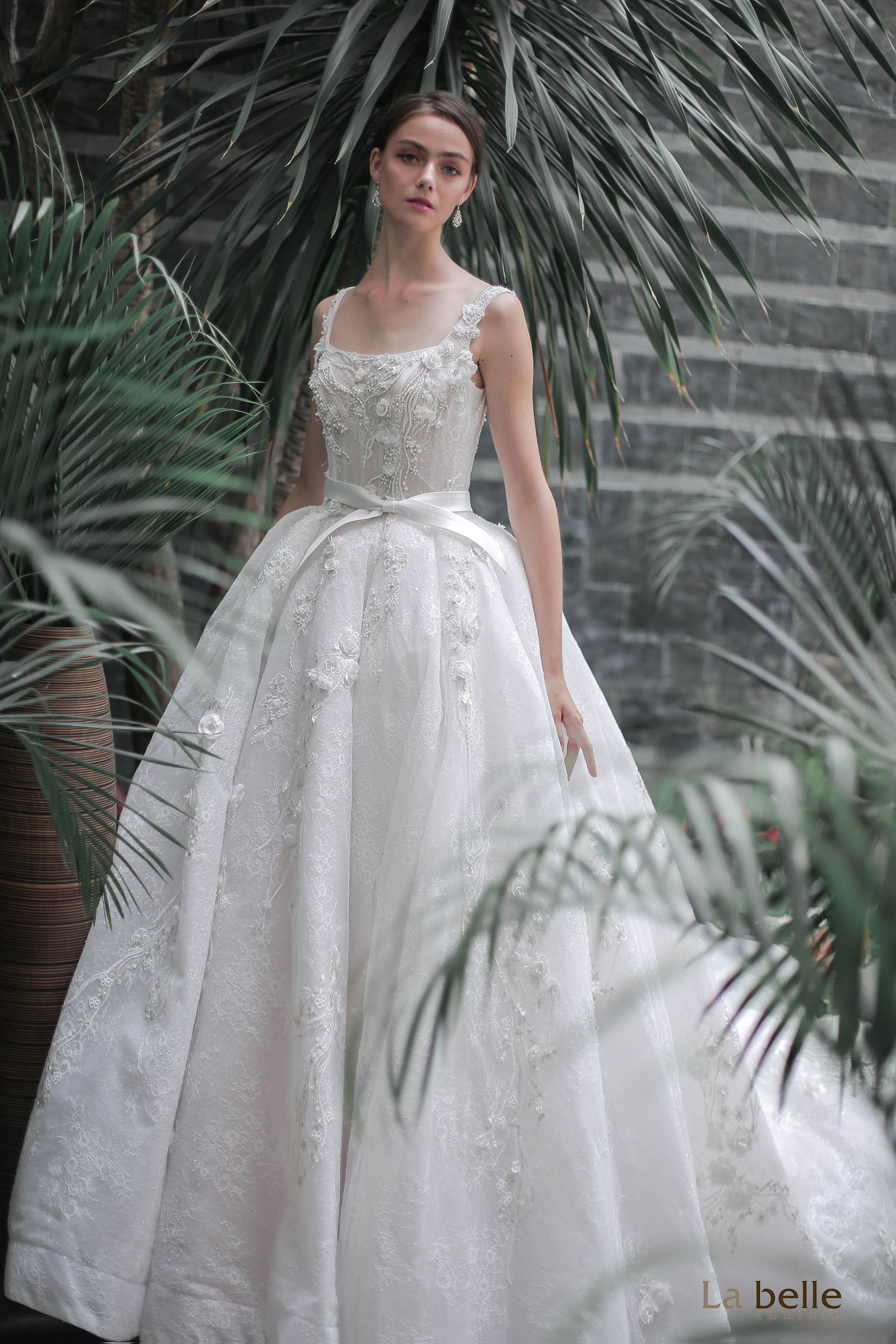 We absolutely love this gown from our Bloomingdale