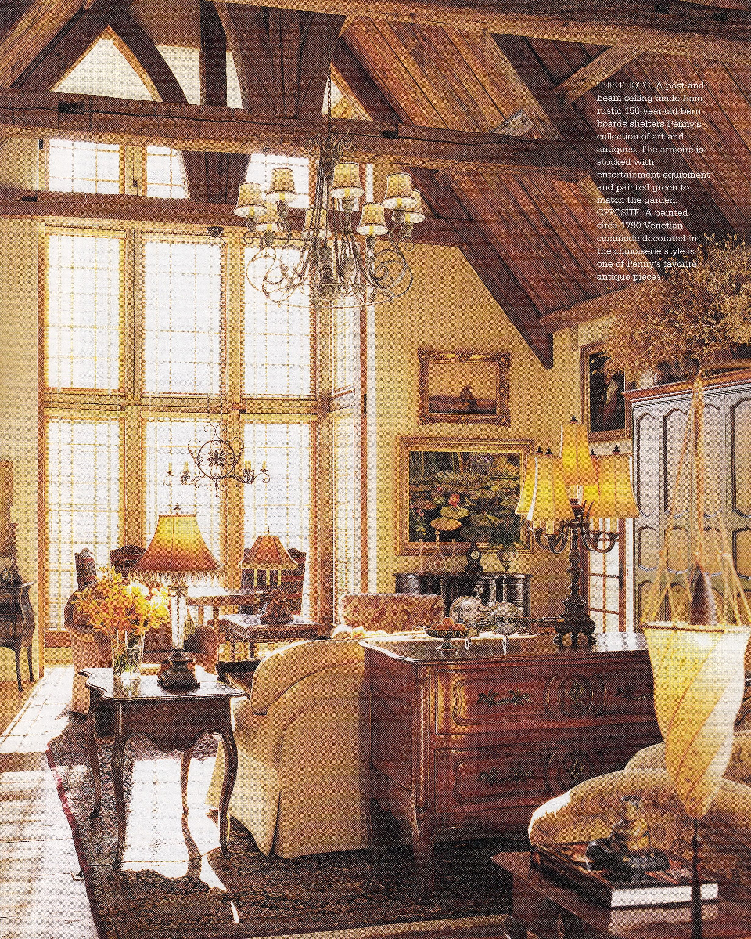 Oregon residence interior design donna wolf architect jeffrey miller published country french decorating by better homes gardens spring summer also rh pinterest