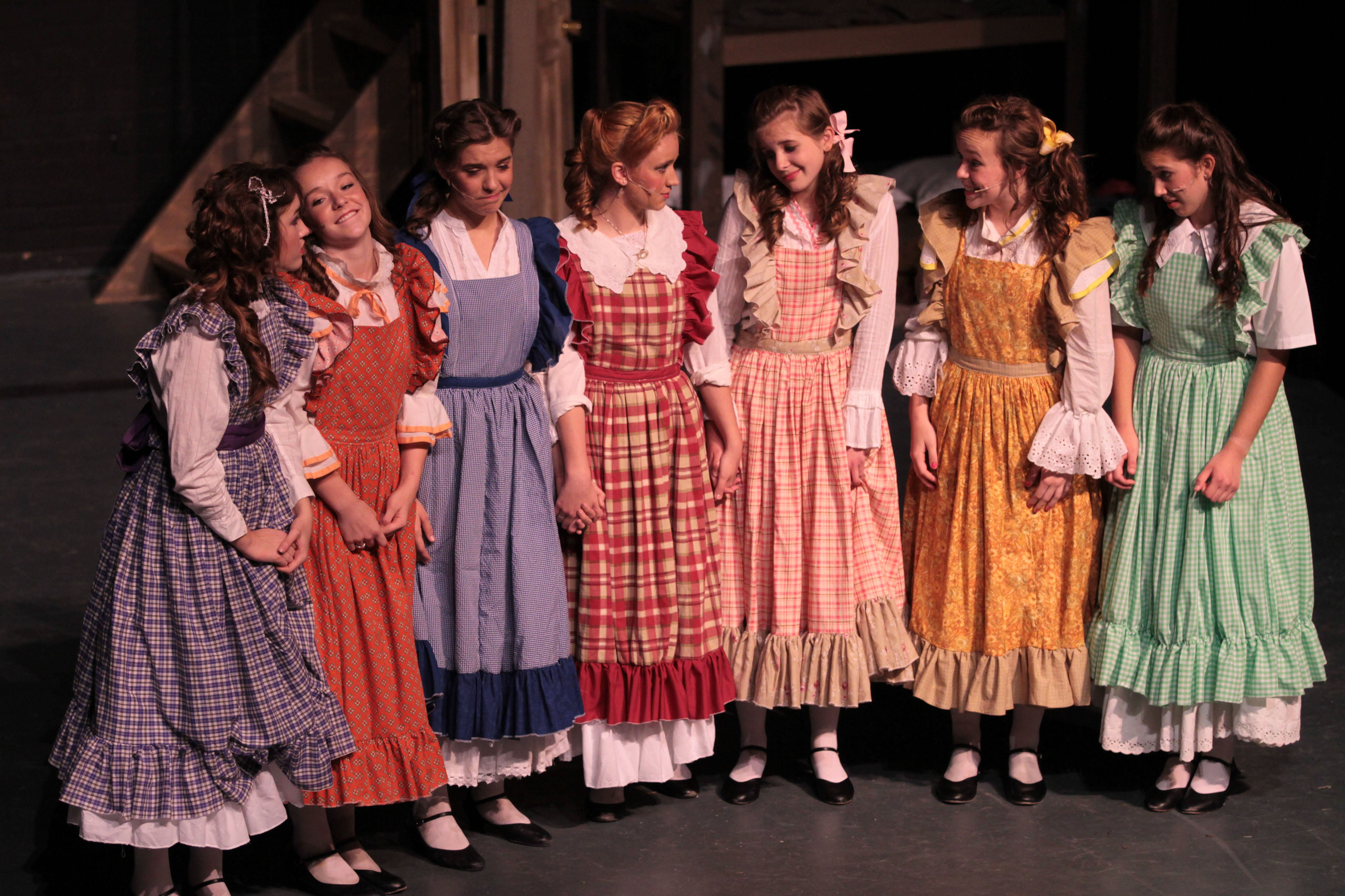 7 Brides For 7 Brothers Costumes Google Search Bride