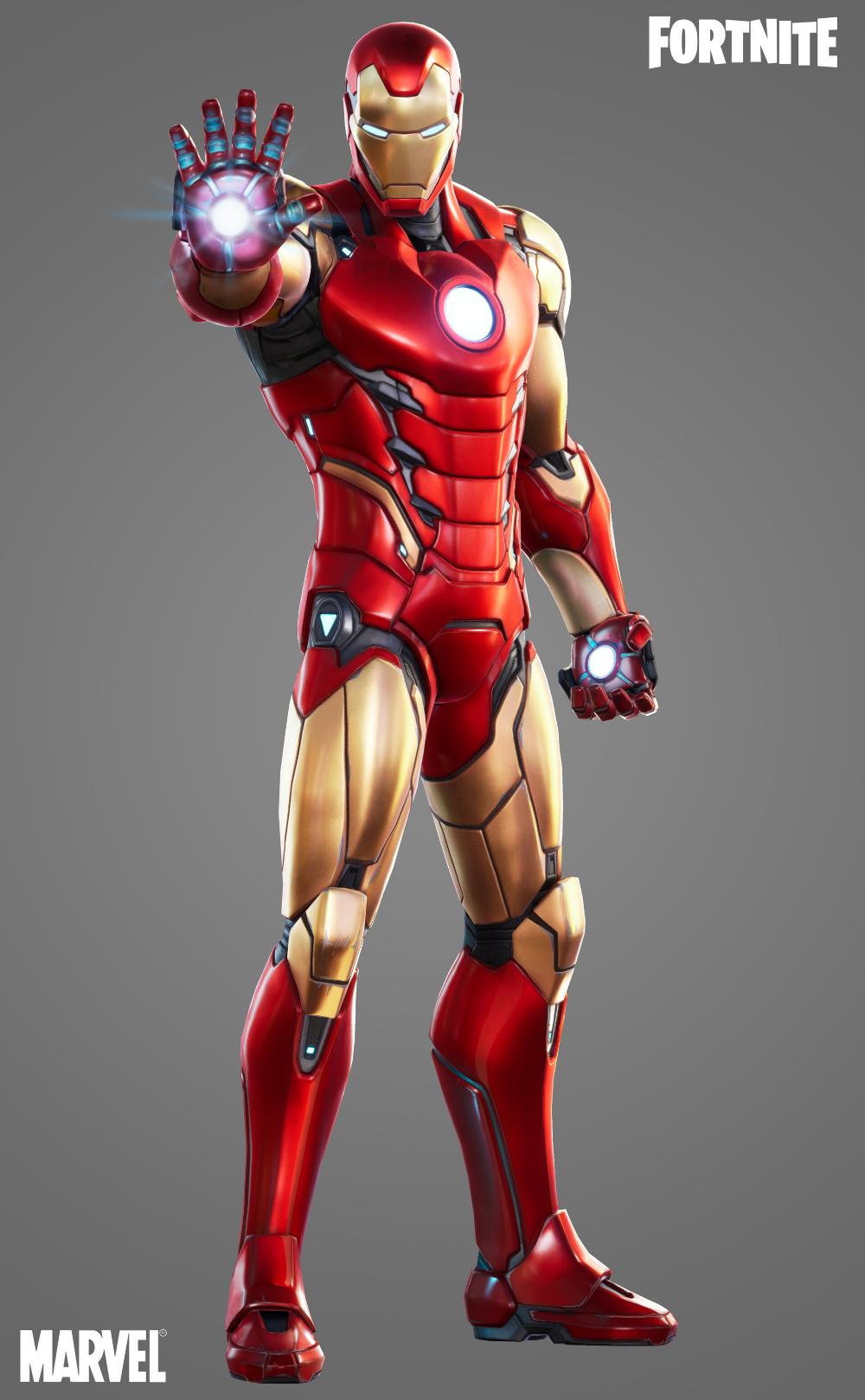 Artstation Fortnite Iron Man Suit Justin Holt Quadrinhos Pop Art Quadrinhos Anime
