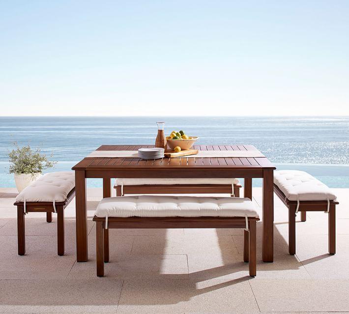 Chatham Square Dining Table u0026 Bench Set & Chatham Square Table u0026amp; Bench Dining Set Honey | Bench set ...