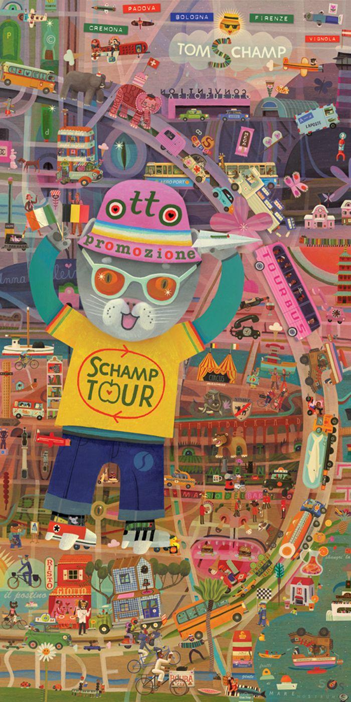 Otto-affiche door Tom Schamp