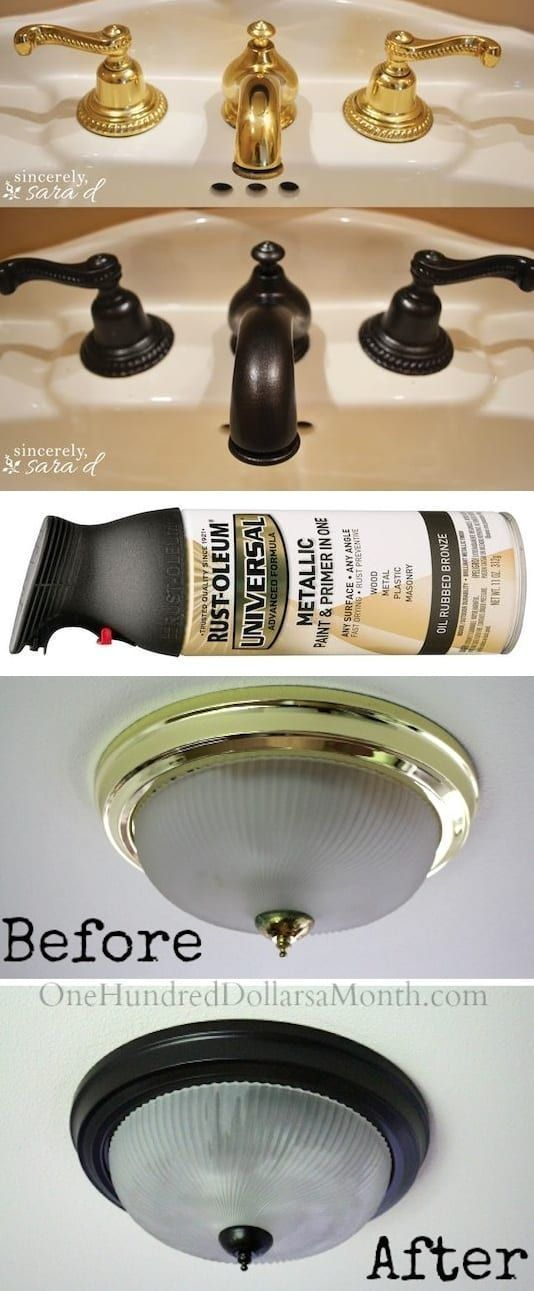 Photo of How to paint outdated brass faucets, hardware and fixtures! — A list of some of…