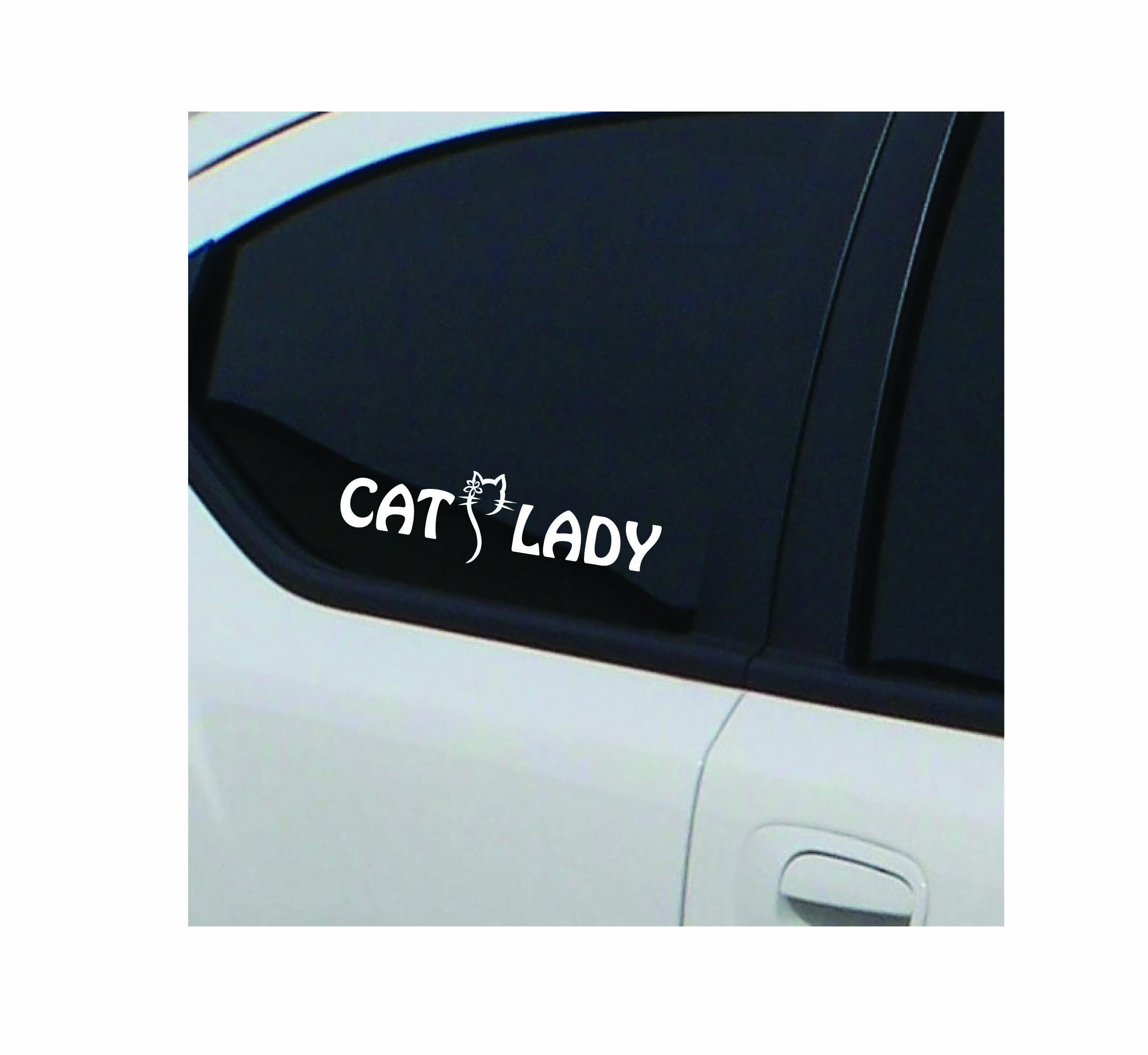 Cat Lady Decal Cat Lady Samsung Galaxy Phone Decals [ 2365 x 2575 Pixel ]