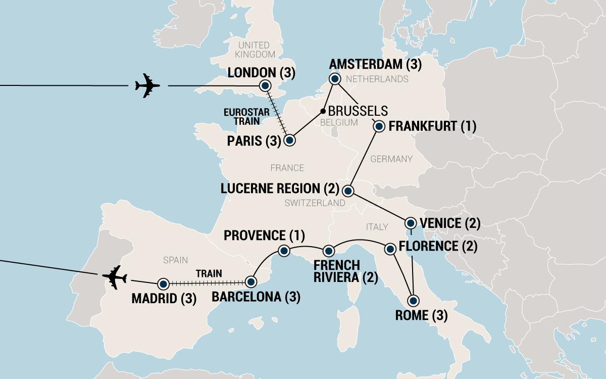 Grand Tour Of Europe Day European Tour EF College Break - Best europe tours