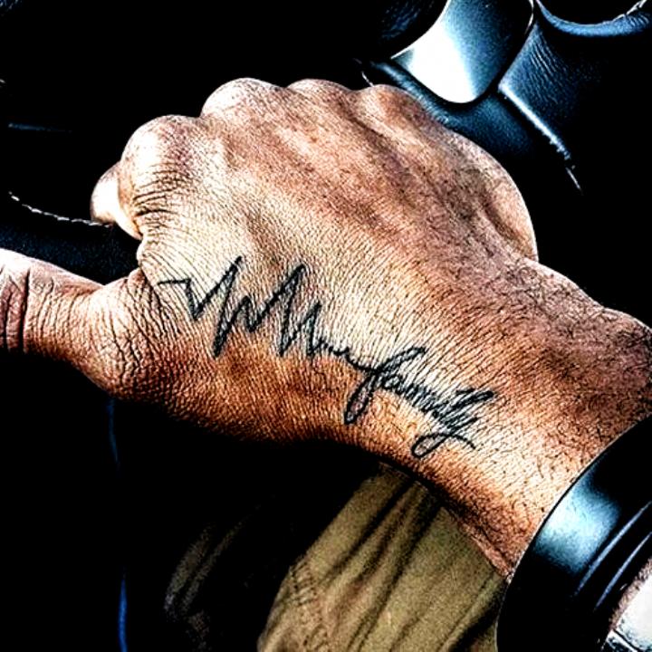 Family Wrist Tattoo #tattoo ideas unique meaningful