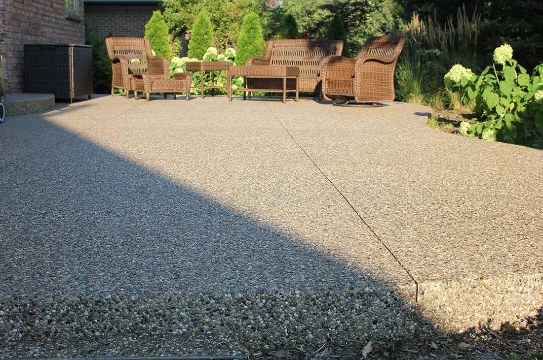 plain concrete patio. Stamped Concrete Patios | Unique Cement - Photos, Michigan Plain Patio