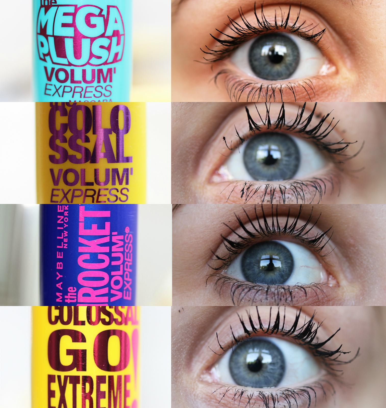 7cb43996db3 Battle of the Maybelline Mascaras (Lola and Behold) | Makeup ...