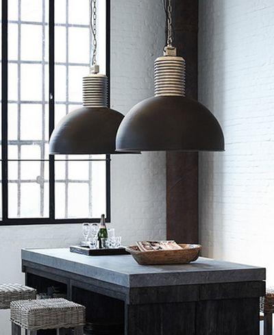 Te gekke lampen van frezoli bij molitli interieurmakers for Kleine industriele hanglamp