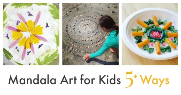 The Calmness Of Mandala Art For Kids