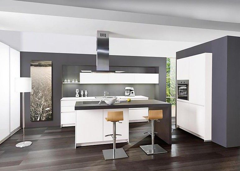 Kochinsel mit Theke | kitchens | Kochinsel, Offene küche kochinsel ...