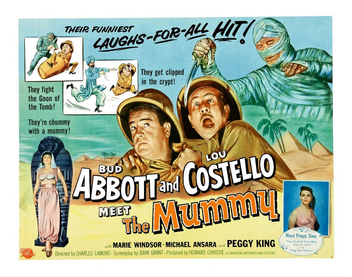 Abbott And Costello Meet The Mummy Is A 1955 Film Directed By