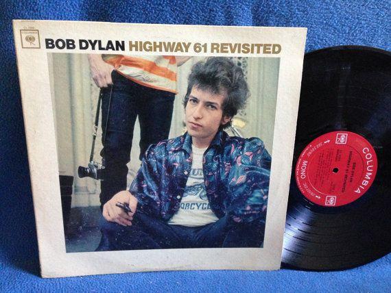 Rare Vintage Bob Dylan Highway 61 Revisited By Sweetleafvinyl With Images Bob Dylan Highway 61 Highway 61 Revisited Bob Dylan